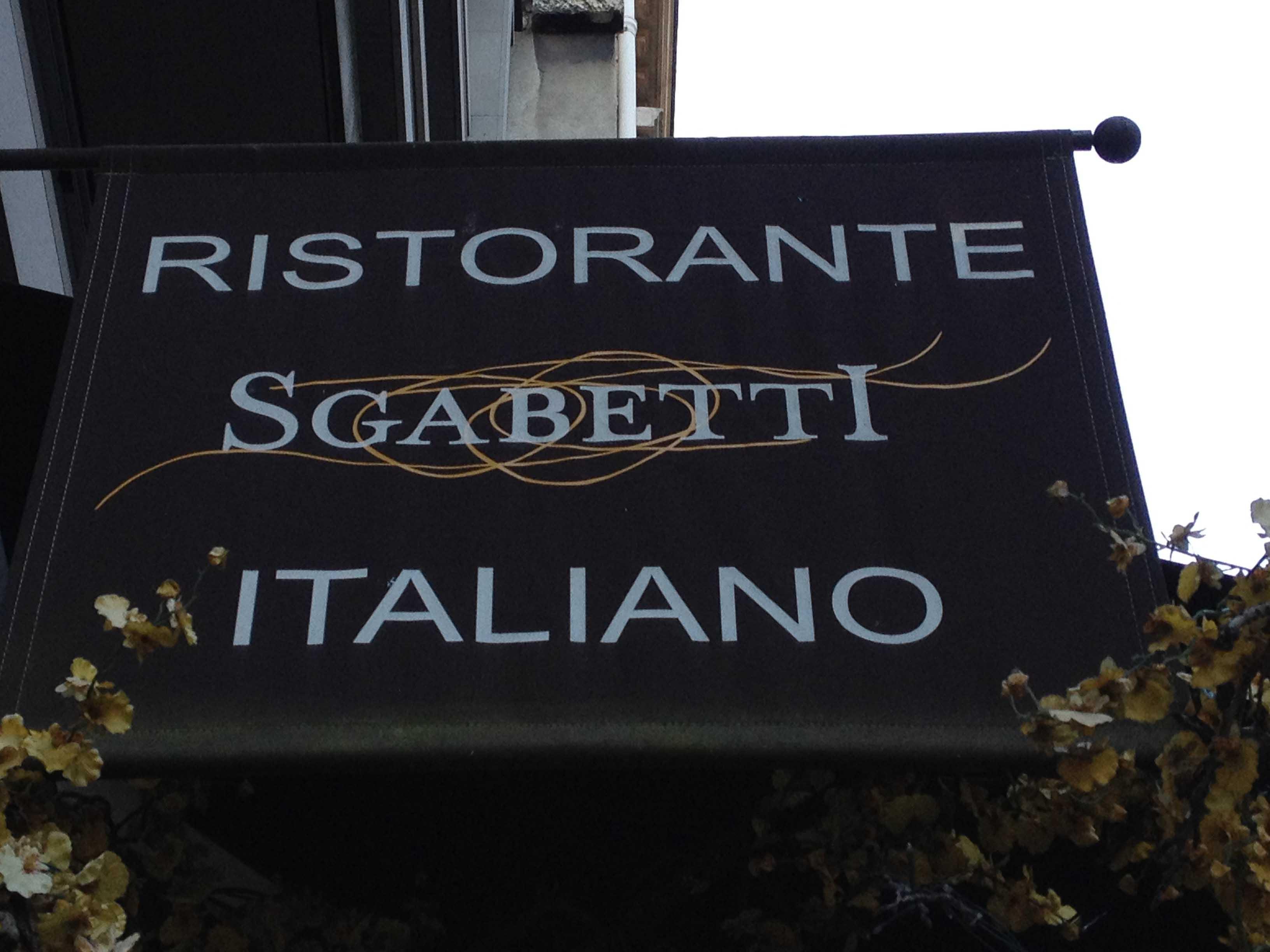 kakemono restaurant Italien