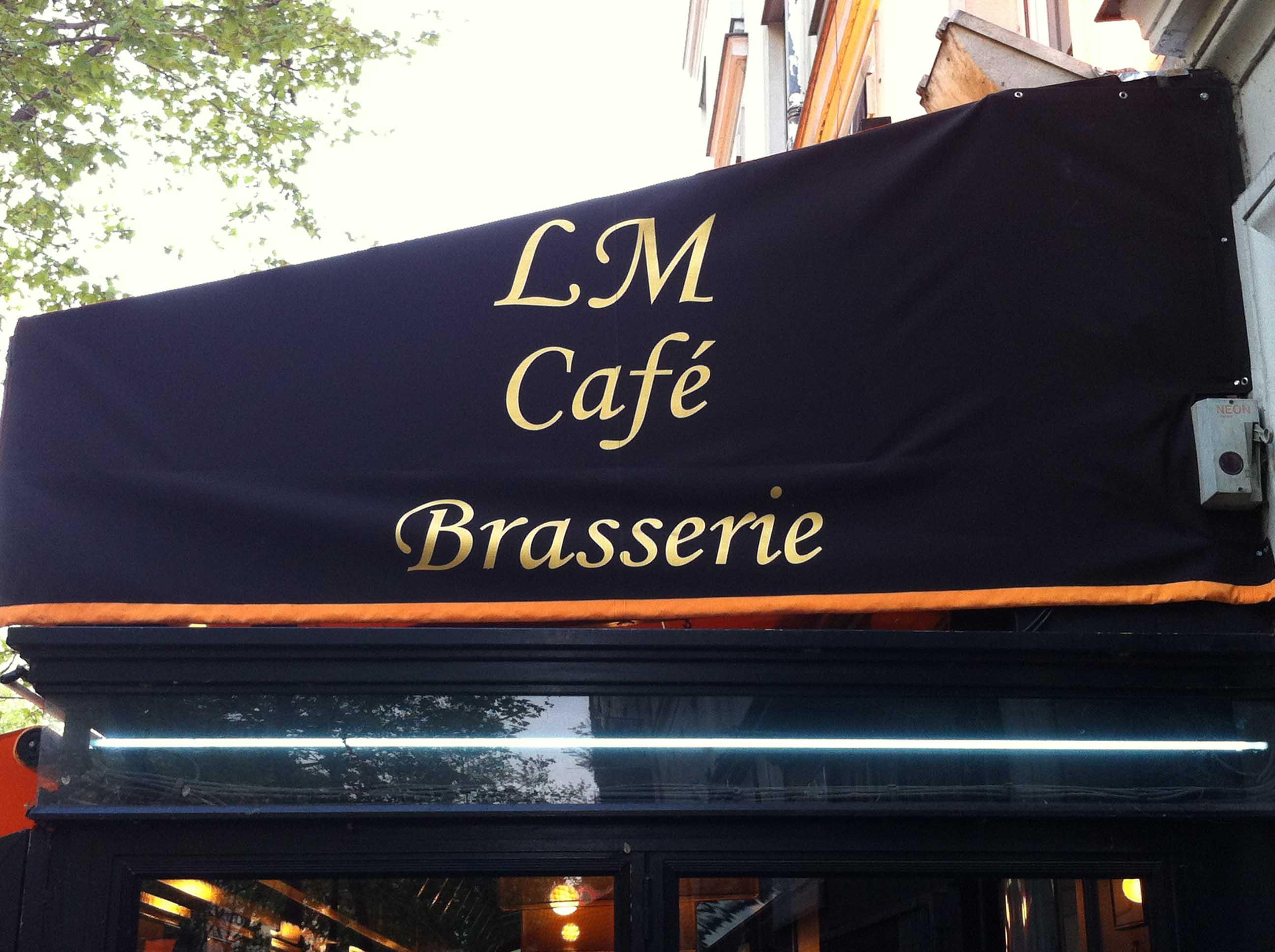 Joue de banne LM Café