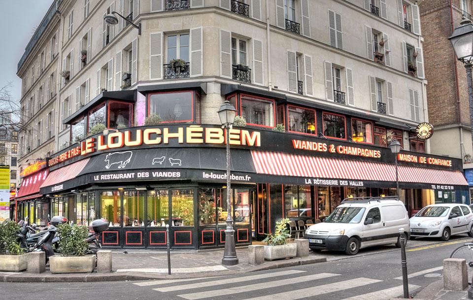 store capote restaurant le Louchébem