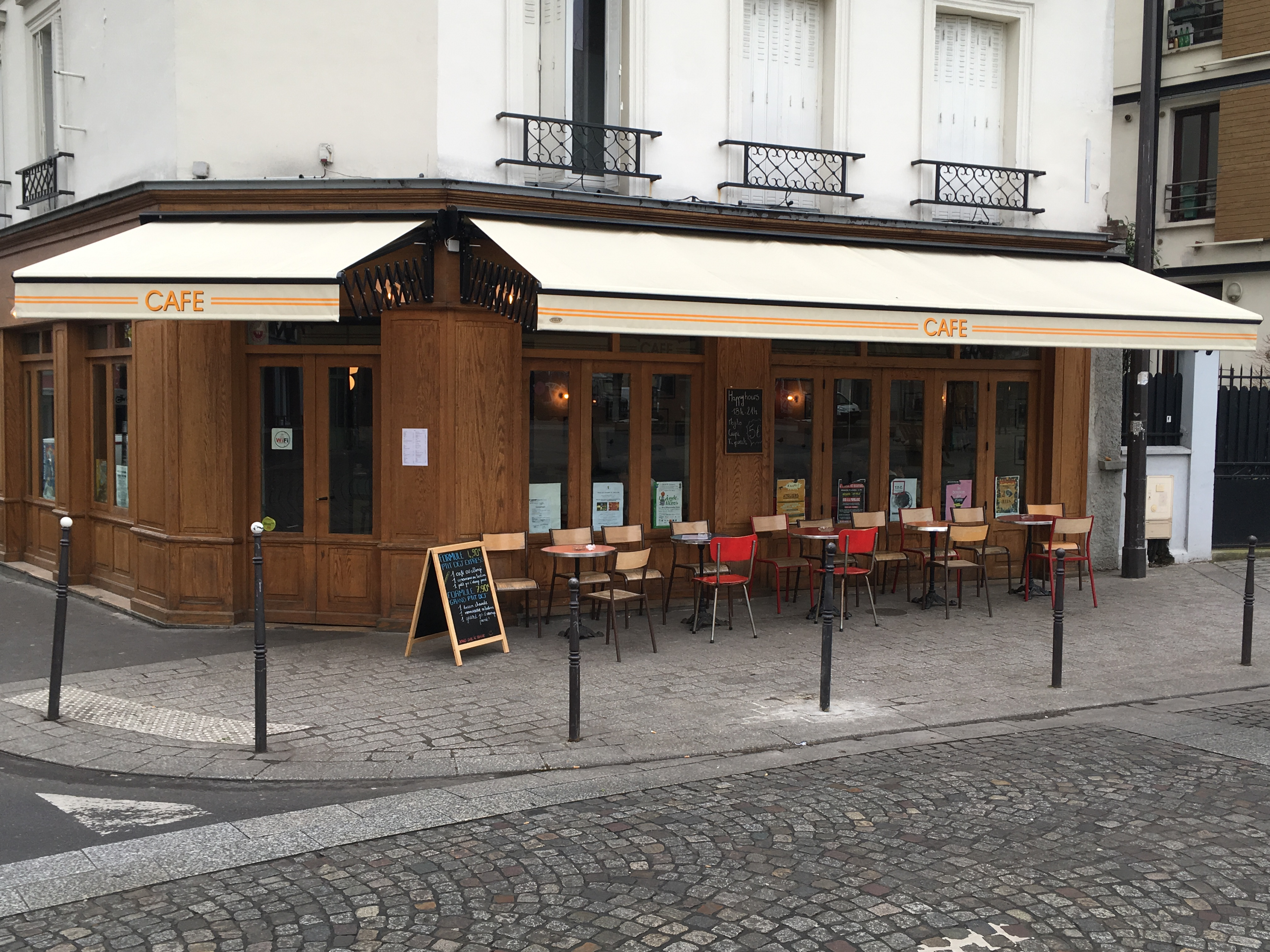 stores croisillons deco alu Dupont Kine Paris
