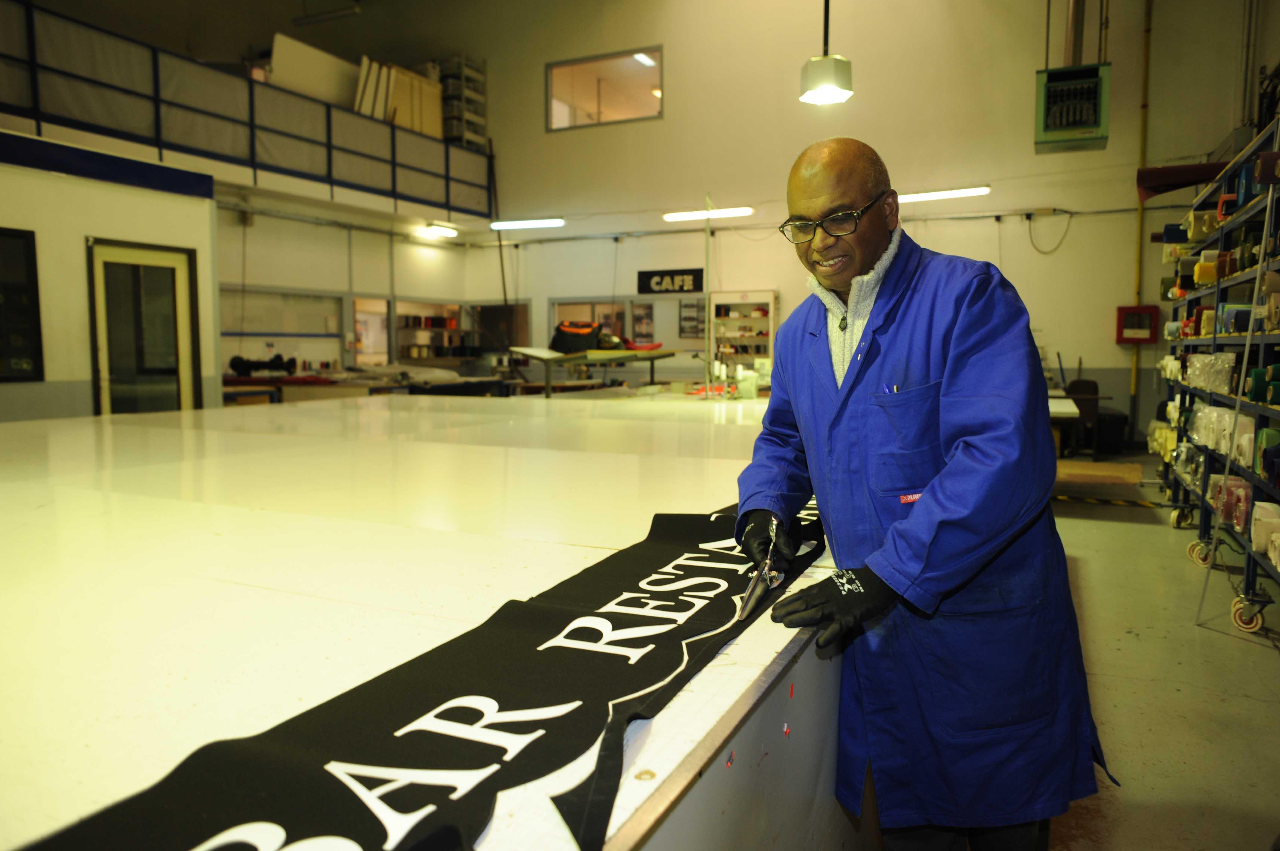 Atelier de confection stores dupont kine paris couture lambrequin personnalisé