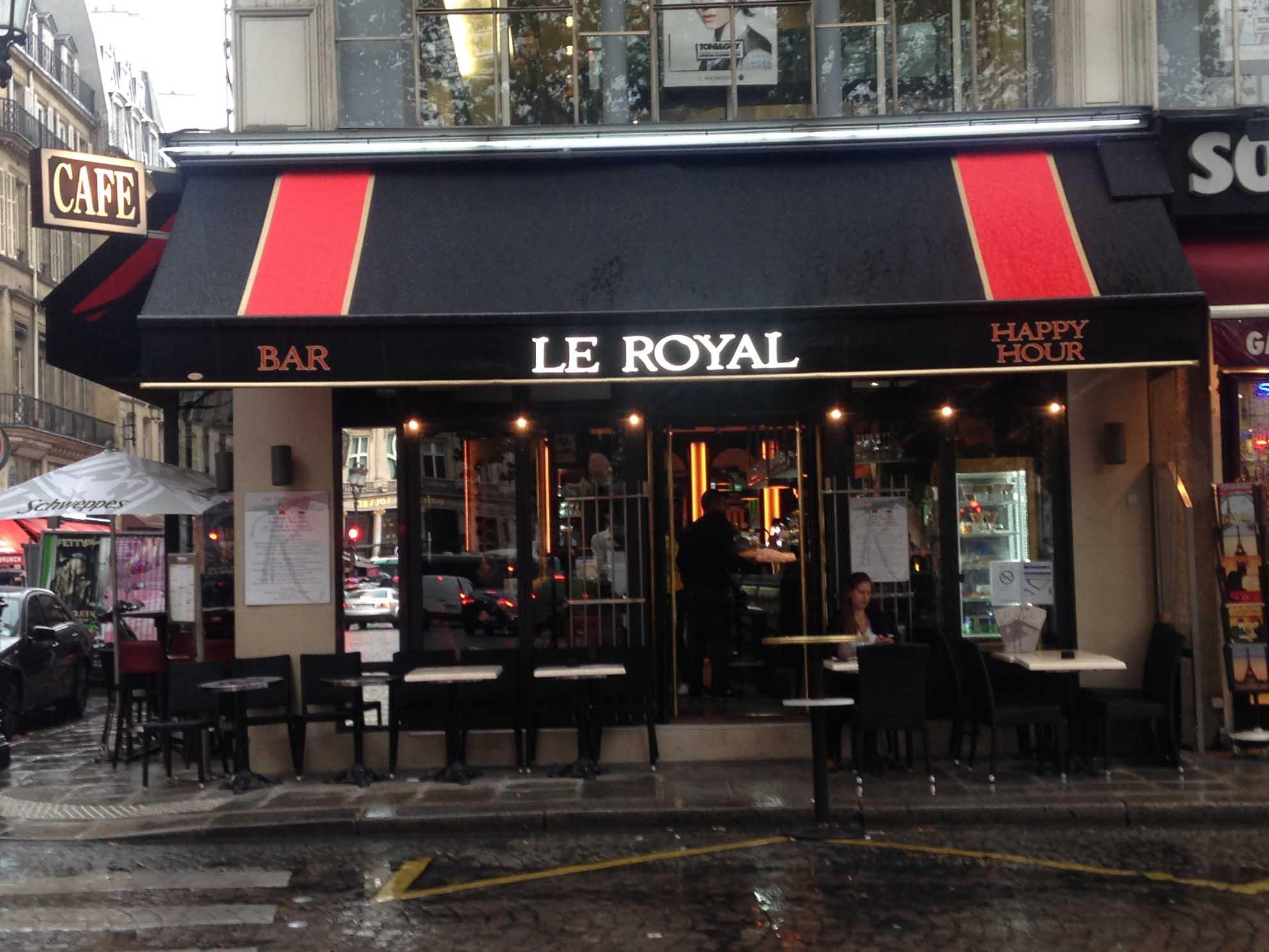 lambrequins lumineux Le Royal